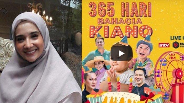Di Acara Ulang Tahun Kiano Tiger Wong, Zaskia Sungkar Dapat Rp 100 Juta dari Baim Wong: Buat Lahiran