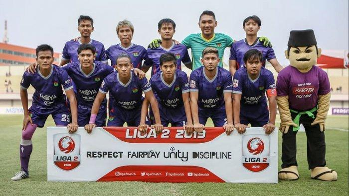 Zikri Akbar saat membela skuad Persita Tangerang di kompetisi Liga 2 2019 dan membawa Pendekar Cisadane lolos ke Liga 1 2020