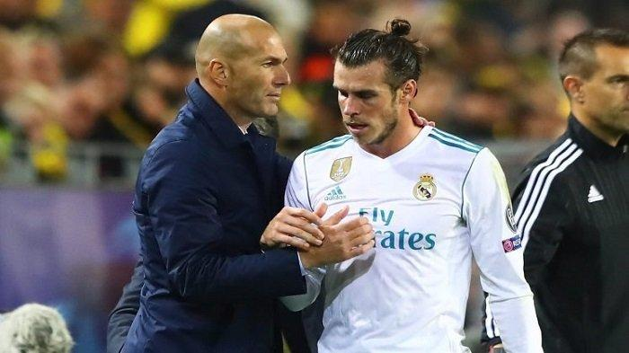 Zinedine Zidane Tidak Mau Terlibat Soal Gareth Bale