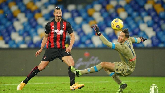 Starting XI dan Link Live Streaming AS Roma vs AC Milan, Ibrahimovic Ditunggu Golnya Kembali