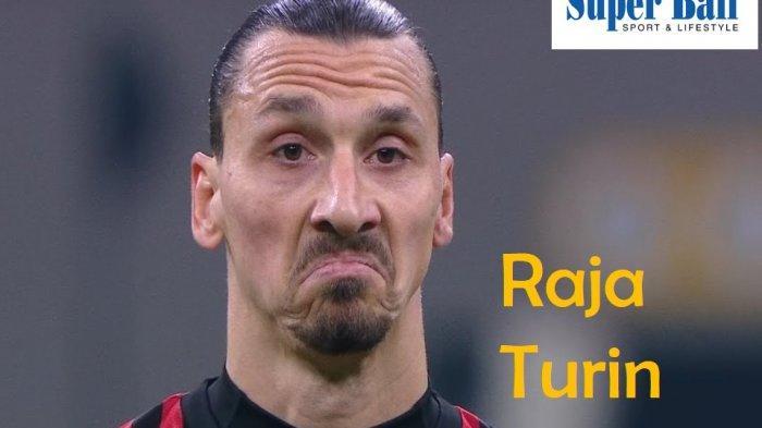 Zlatan Ibrahimovic menjadi pencetak gol perdana saat Milan mengalahkan tamunya Juventus 4-2, Rabu (8/7/2020).