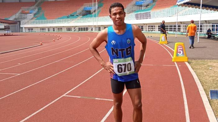 Tampil di Tes Event Olimpiade, Lalu Muhammad Zohri Targetkan Bisa Lari di Bawah 10 Detik