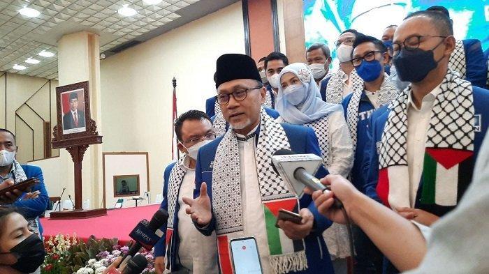 Ketua Umum PAN Zulkifli Hasan: PDIP Partai Besar, Mengajak Kami Berkoalisi Suatu Kehormatan