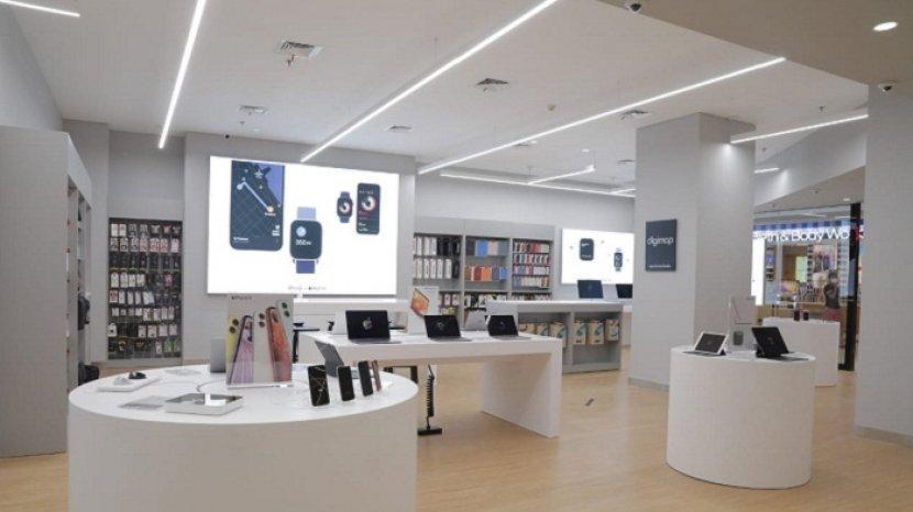 Relokasi Kini Digimap Di Grand Indonesia Mall Usung Konsep Mobile Pos Tak Perlu Antri Di Kasir Warta Kota