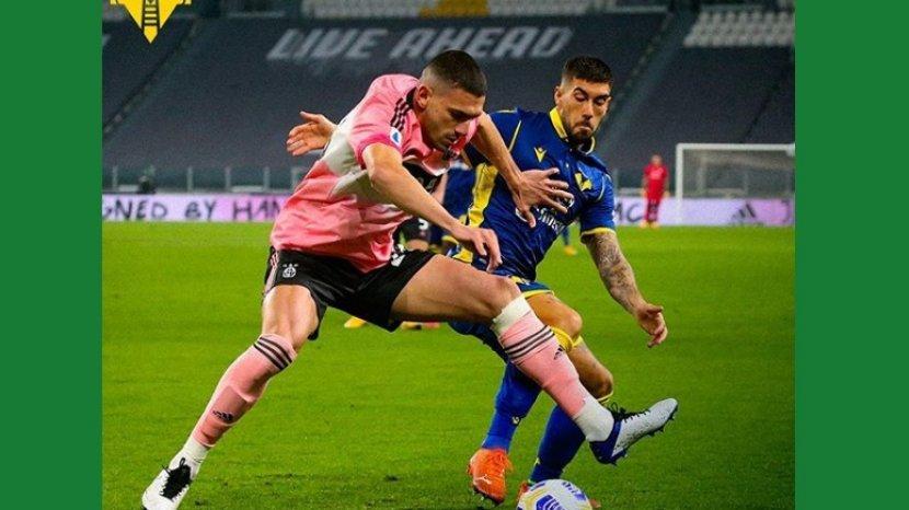 Hasil Juventus Vs Hellas Verona 1 1 Masing Masing Gol Dicetak Para Pemain Pengganti Di Babak Kedua Warta Kota