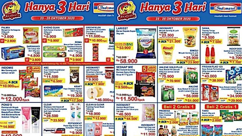 Katalog Promo Jsm Indomaret 23 25 Oktober Turun Harga Minyak 2 L Beras 5 Kg Hingga Susu Cair 1 L Warta Kota
