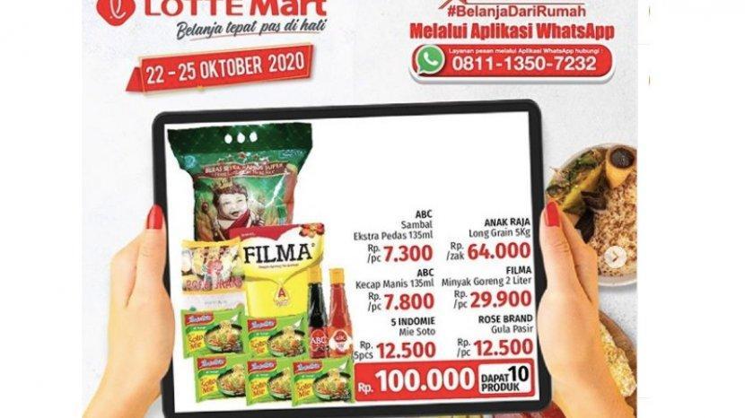 Katalog Promo Lottemart 25 25 Oktober Ada Paker Sembako Cuma 100 Ribu Hingga Diskon Produk Bayi Warta Kota