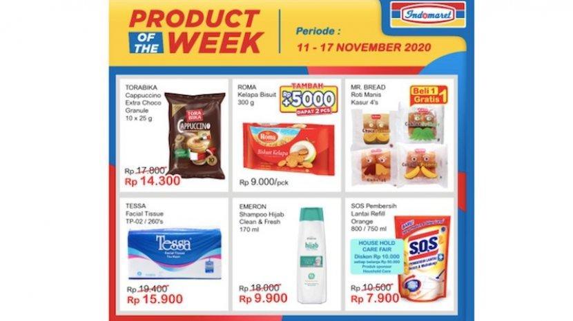 Katalog Promo Indomaret Product Of The Week 11 17 November Dari Minyak Goreng Snack Roti Warta Kota