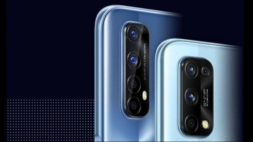 17 September 2020 Realme 7 Dan 7i Quad Camera 64 Mp Rilis Di Tanah Air Spesifikasi Dan Harganya Warta Kota