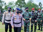Beri Semangat Prajurit TNI-Polri di Papua, Kapolri: Pengabdian Terbaik Kepada Bangsa