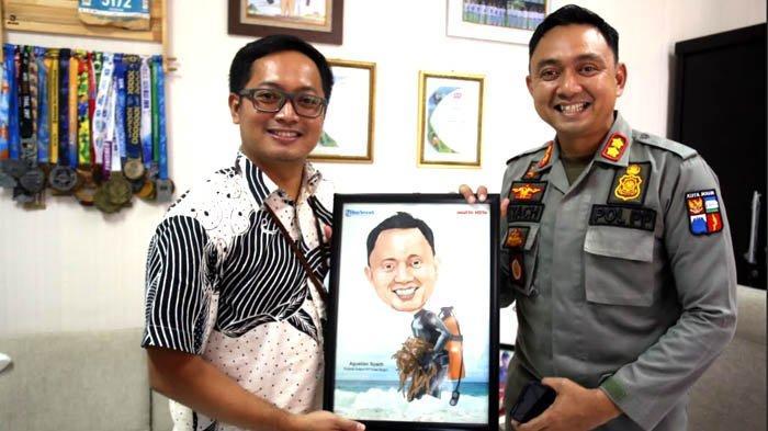 Agustian Syach, Kasatpol PP Kota Bogor Kagumi Spot Selam di Indonesia