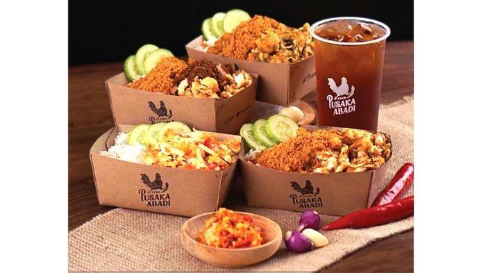 Ayam @pusbad Inovasi Ayam Geprek dengan Aneka Sambal Nusantara