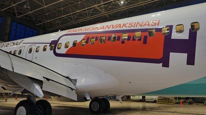 Garuda Indonesia juga terlibat dalam pendistribusian, dengan mengangkut vaksin dari Beijing, Tiongkok ke Jakarta, Indonesia.