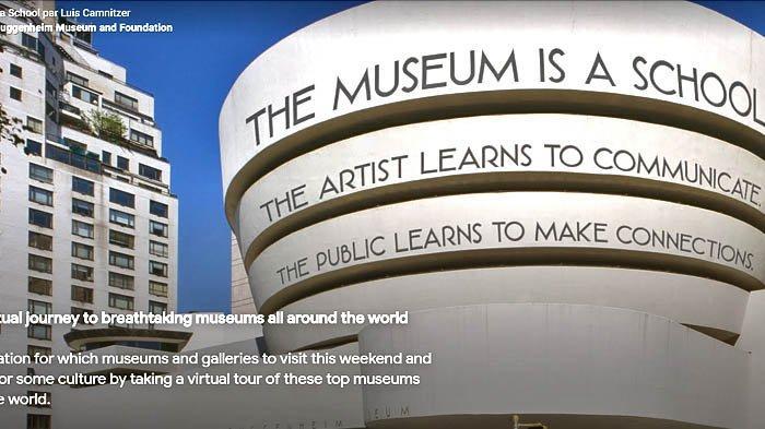 Bosan Saat Mengisolasi Diri Sendiri? Yuk Jalan-jalan ke Museum Secara Virtual