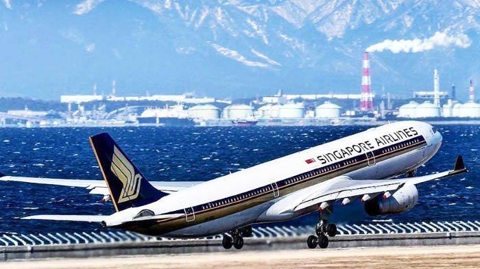 Daftar Penerbangan Singapore Airlines dan Silk Air ke Indonesia yang Dibatalkan