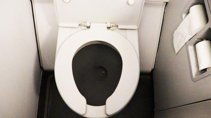 Kapan Waktu yang tepat Untuk menggunakan Toilet Pesawat?