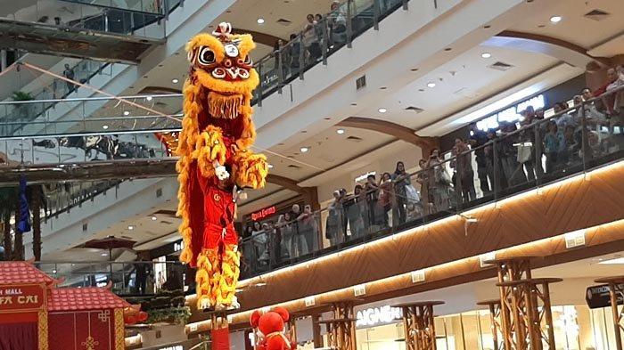 Pondok Indah Mall Hadirkan Atraksi Barongsai Juara Dunia