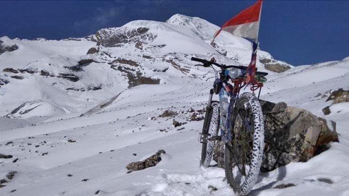 Dengan Rp 8 Juta, Iwan Sunter Bersepeda di Annapurna Circuit