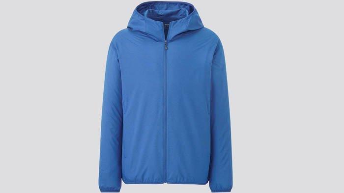 Jaket Parka Saku UV Protection produk Uniqlo.