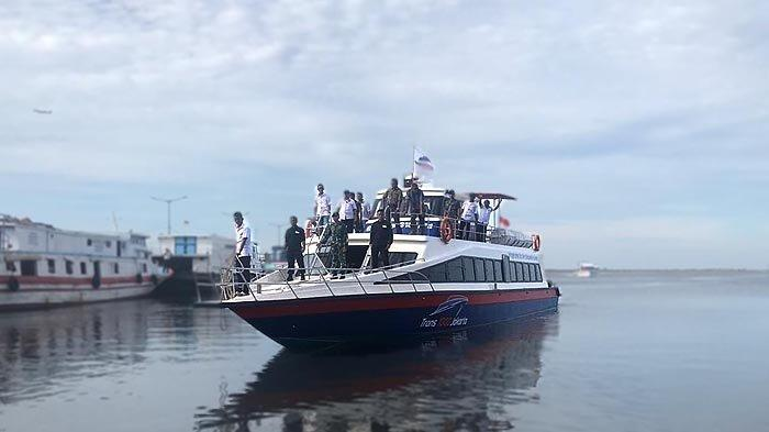 KM Trans1000 Siap Bawa Pelancong ke Kepulauan Seribu