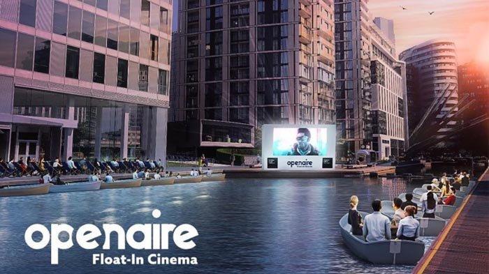 Bioskop Terapung Pertama di Inggris akan Beroperasi di London Awal September 2020