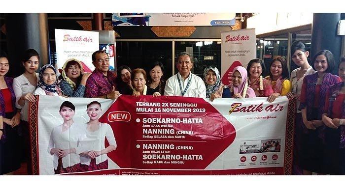 Batik Air Layani Penerbangan ke Nanning Tiongkok, Rangsang Wisatawan Banjiri Indonesia