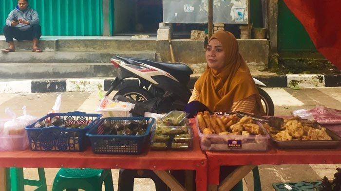Pasar Kaget Takjil Paling Ramai di Kawasan Cibinong