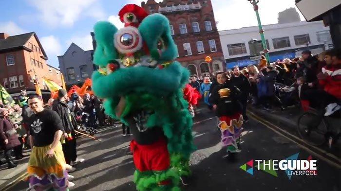 Kota Liverpool Sudah Berhias Menyambut Tahun Baru Imlek
