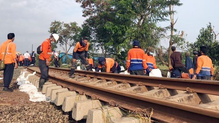 Perjalanan Kereta Api pada 22 Februari 2021 Dibatalkan, Rel Belum Aman Dilewati