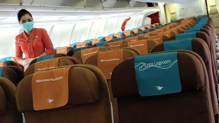 Garuda Indonesia Peroleh Skor 4 dari Hasil Audit Safe Travel Barometer