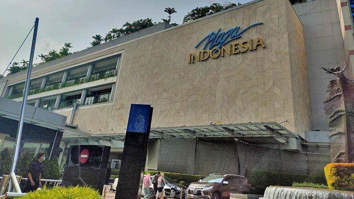 Jumlah Pengunjung Turun, Mal Plaza Indonesia Tetap Beroperasi Normal