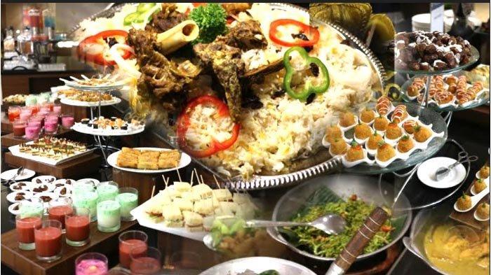 Sajian Special Buffet Idulfitri di Hotel Santika Premiere Bintaro pada tahun 2021.