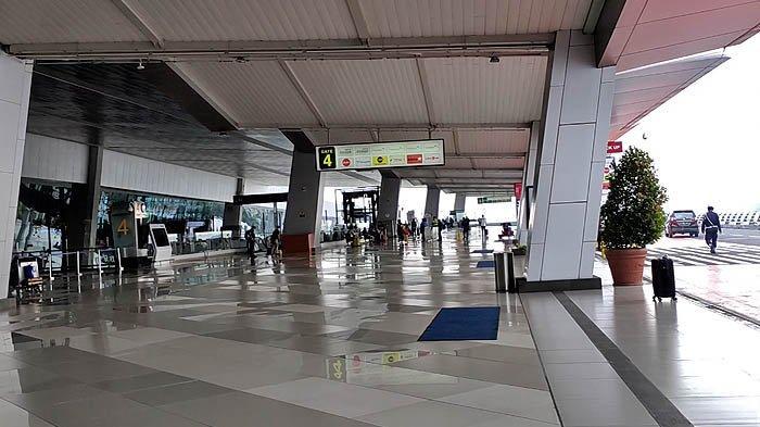 Suasana Terminal 3 Bandara Soekarno Hatta pada Jumat (6/11/2020) pagi.
