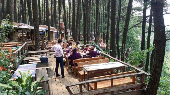 Selain Menikmati Keteduhan Pohon Pinus, Ada Jasa Pijat juga lho di Gunung Pancar