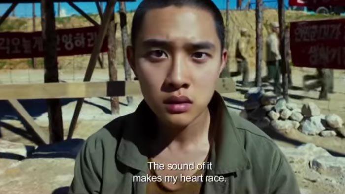 D.O. EXO, atau Do Kyung Soo, akan berperan sebagai remaja yang mahir bermain piano, di film adaptasi dari Secret (2007). Keterangan foto: D.O. ketika berakting di film Swing Kids (2018).