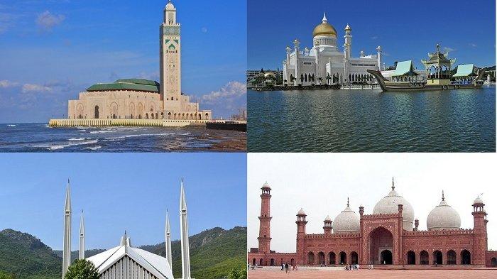 10 Masjid Paling Cantik Di Dunia Nomer 6 Arsitekturnya Terinspirasi Dari Masjid Di Indonesia Tribun Wow