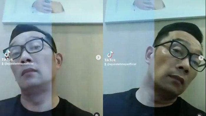 Ikut Coba Filter Pemutih Muka yang Viral, Ridwan Kamil: Perasaan Sama Aja