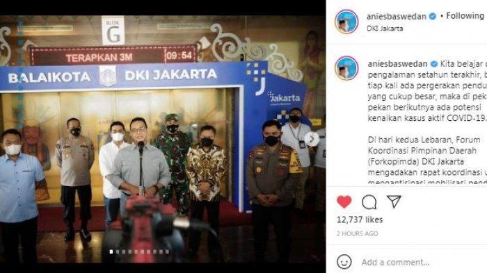 Gubernur DKI Jakarta Anies Baswedan menyatakan akan ada 2 lapis screening bagi para pemudik yang akan pulang ke Jakarta.