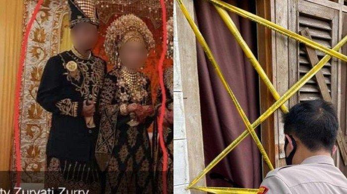 Belum Lama Jadi Pengantin Baru, Suami Bunuh Istrinya lalu Bunuh Diri di Rumah Mertuanya