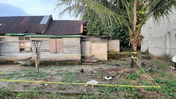 Lokasi Kronoligis kejadian yang berada di samping Kantor Kecamatan Sungaiselan.