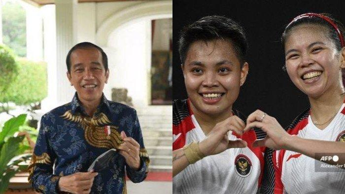 Greysia/Apriani Sabet Emas Pertama, Jokowi Ucap Terima Kasih: Ini Kado Ultah Kemerdekaan