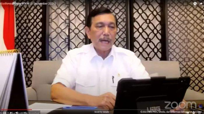 Ungkit Kasus Kafe di Jakarta Ramai saat Covid-19, Luhut Kutip Pesan Jokowi saat Rapat
