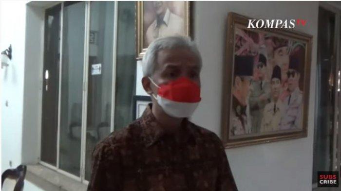 Didukung Relawan Maju 2024, Jawaban Singkat Ganjar Pranowo Buat Awak Media Tertawa