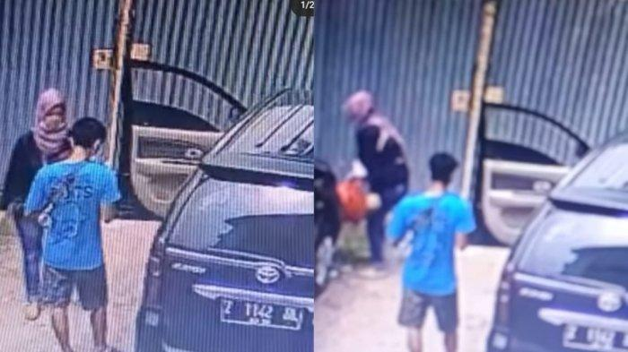 Viral CCTV Ibu Buang Bayinya, Saksi Mata Tak Sadar Pelaku Bungkus Mayat Korban Pakai Plastik
