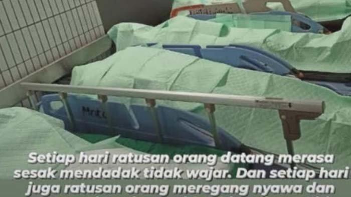 Sejumlah jenazah di IGD RSUD Dr Soetomo Surabaya yang diakui Direktur RSUD Dr Soetomo Surabaya, pada Rabu (30/6/2021) kemarin 27 pasien covid-19 meninggal dunia.