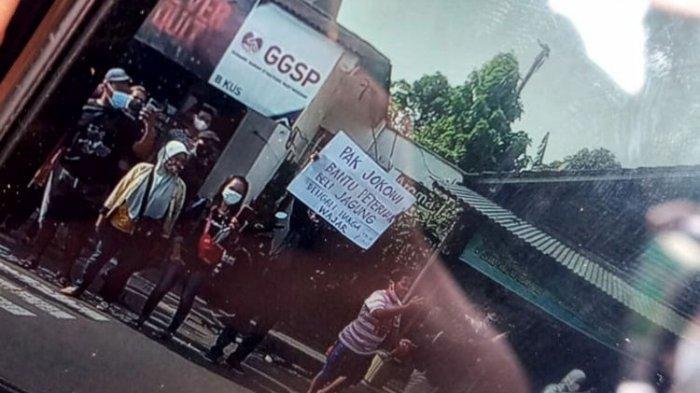 Sosok Suroto Pria yang Bentangkan Poster ke Arah Presiden Jokowi, Dianggap Pahlawan bagi Peternak