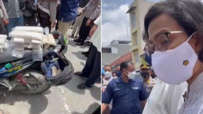 Reaksi Sri Mulyani Lihat Pengantin Baru Dagang Tempe di Atas Motor: Ekspresi Penuh Semangat
