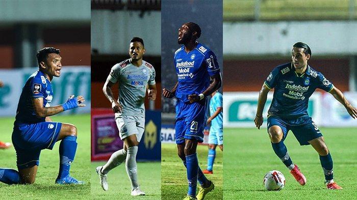 Tiga Bomber Persib Bandung Cetak Total 7 Gol di Piala Menpora 2021, Ini Profil dan Statistiknya
