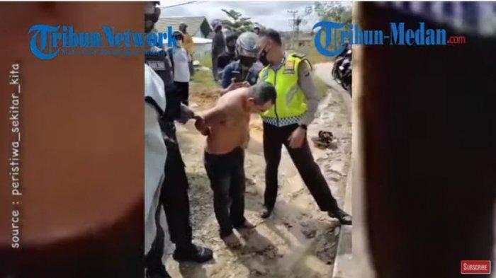 Viral pria melawan balik perampok yang hendak merebut uang Rp 100 juta, di Jalan Persemaian II, Muara Teweh Kalimantan Tengah, Kamis (29/4/2021) sekira pukul 10.00 WIB.
