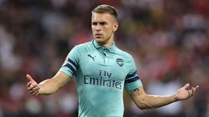 Gelandang Arsenal Aaron Ramsey
